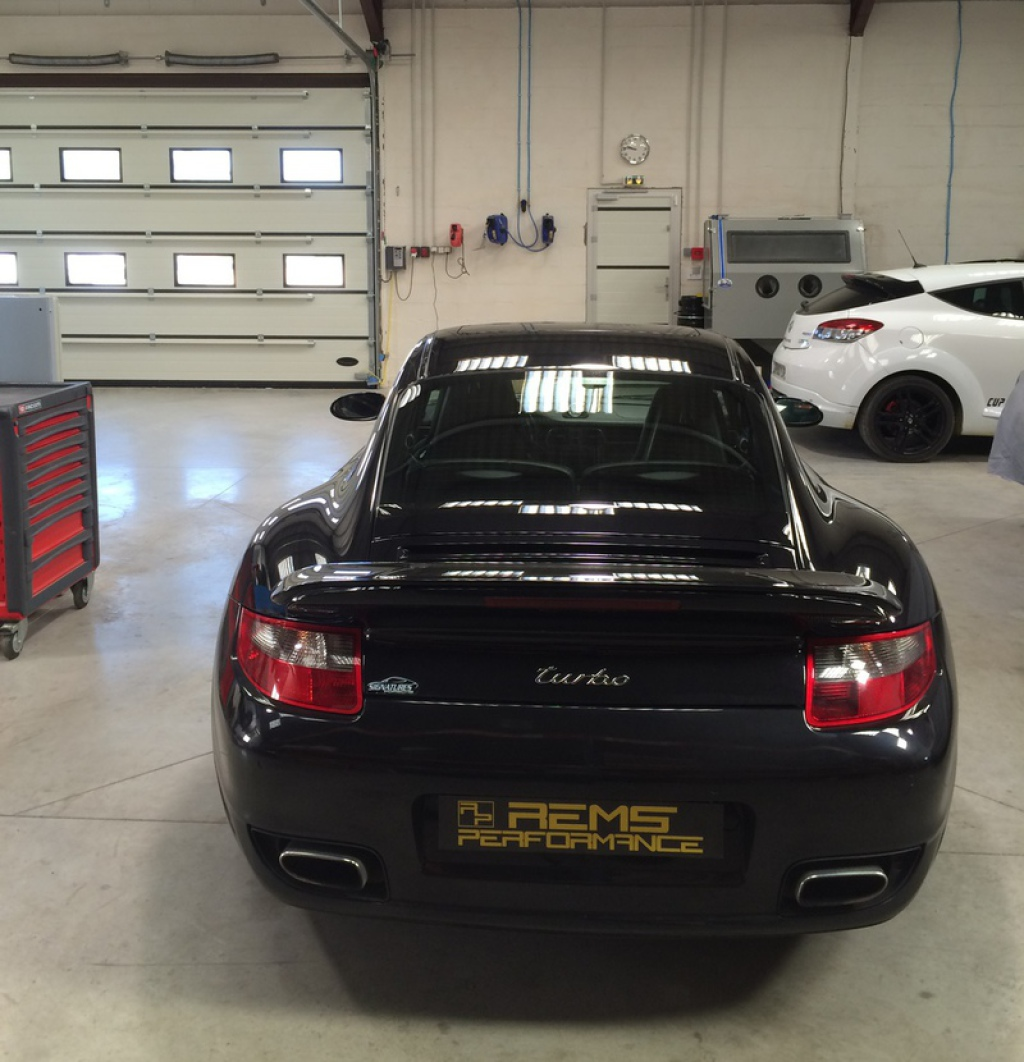 porsche 997 turbo garage rems performance canet narbonne