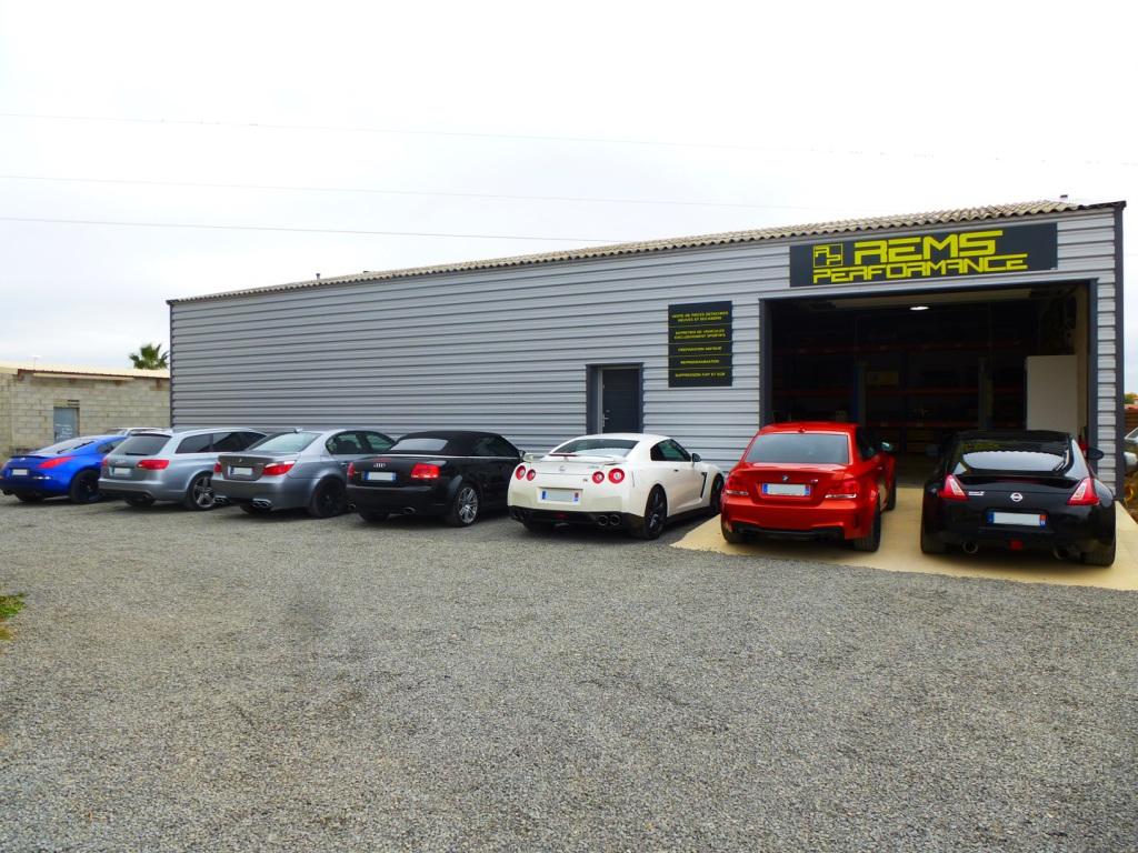 Canet Narbonne Aude Nissan 350Z 370Z GTR GT-R Audi RS4 RS6 BMW 1M M5 entretien reprogrammation