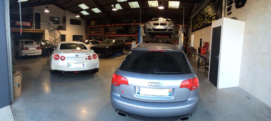 Lancer evolution 6, Nissan GTR GT-R, Audi RS4, BMW M3 M6 Narbonne Canet reprogrammation entretien